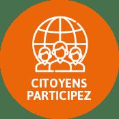 """Lien vers la page """"Citoyens Participez"""""""