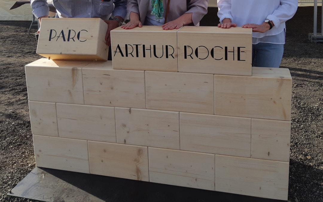 Parc Arthur Roche, le chantier est lancé.