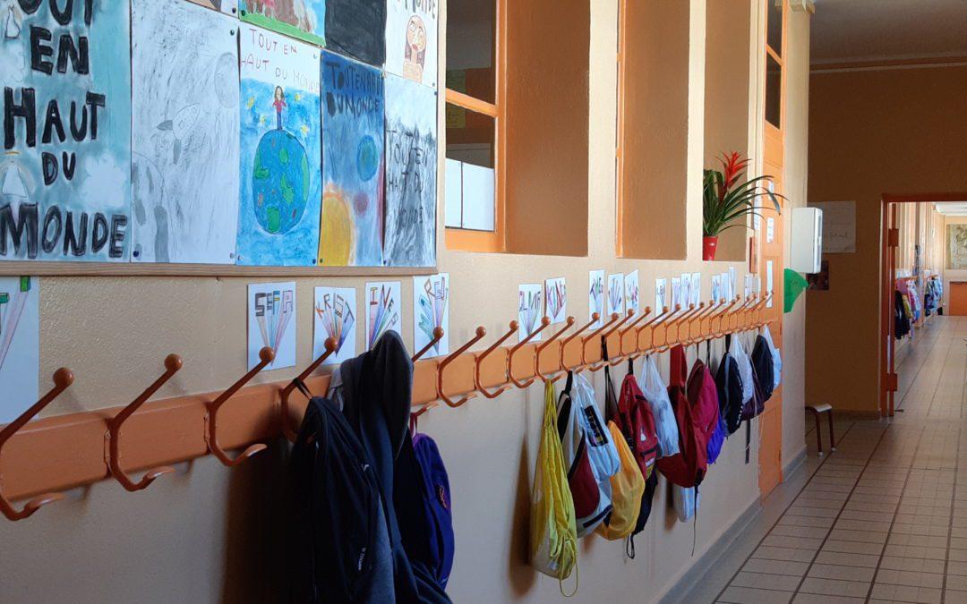 Covid-19 & école : Reprise de l'école jeudi 14 mai à Genay