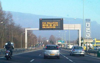Alerte pollution de niveau 2 – particules fines