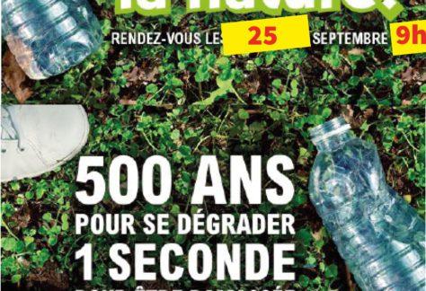 opération Nettoyons la nature 2021