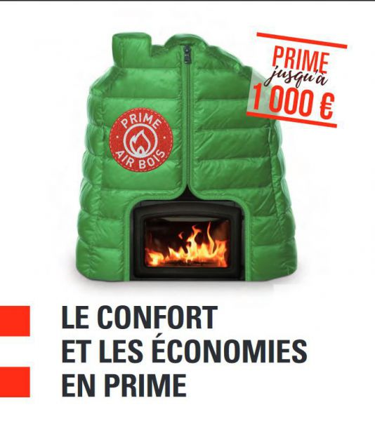 Prime Air bois & chauffage : parlons-en !