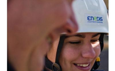 Intervention ENEDIS en cours sur la commune: suivi en temps réel