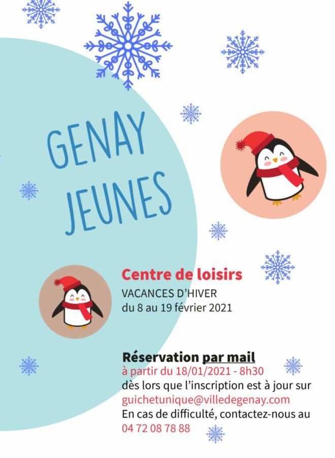 Programme hiver Genay Jeunes