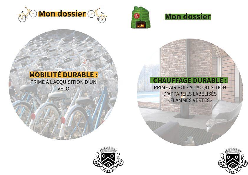 Prime vélo et prime Air bois : Genay vous accompagne dans vos démarches